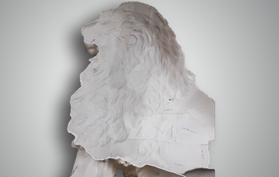 Statue, 3D Printing, Lion